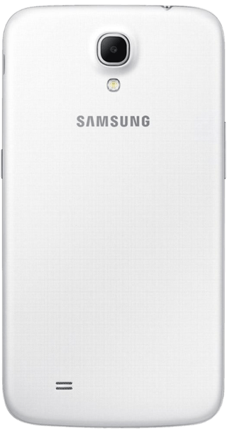 Samsung Galaxy Mega White back