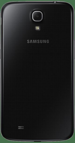 Samsung Galaxy Mega back