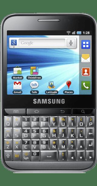 Samsung Galaxy Pro front
