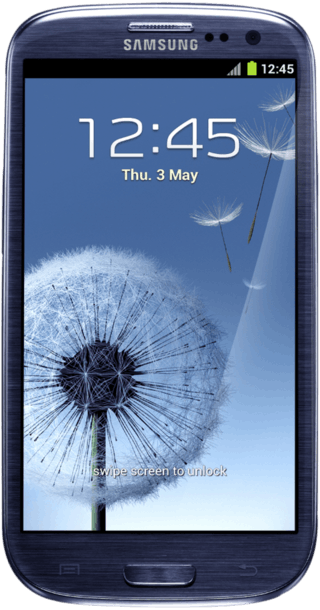 Samsung Galaxy S3 16GB Blue front