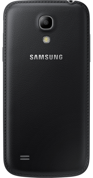 Samsung Galaxy S4 Black Edition back