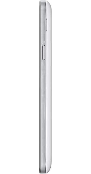 Samsung Galaxy S4 Mini White side
