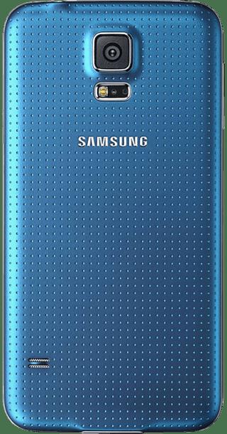 Samsung Galaxy S5 16GB Blue back