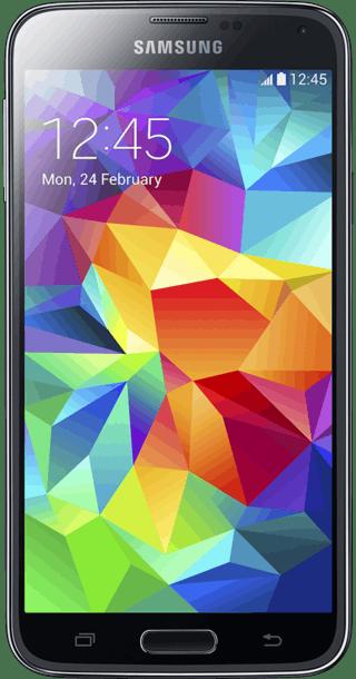 Samsung Galaxy S5 16GB Blue front