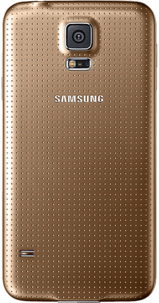 Samsung Galaxy S5 16GB Gold back