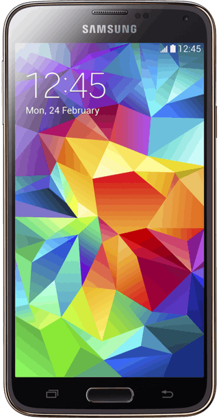 Samsung Galaxy S5 16GB Gold front