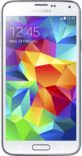 Samsung Galaxy S5 32GB White front