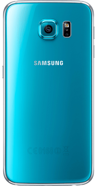 Samsung Galaxy S6 32GB Blue back