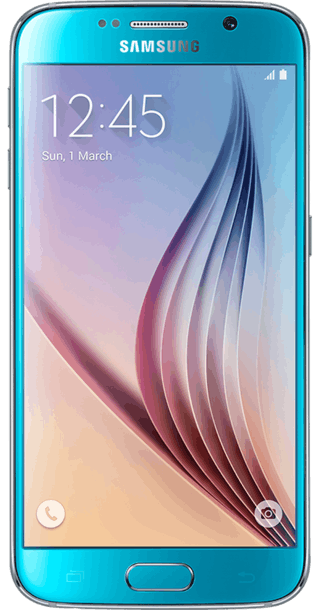 Samsung Galaxy S6 32GB Blue front