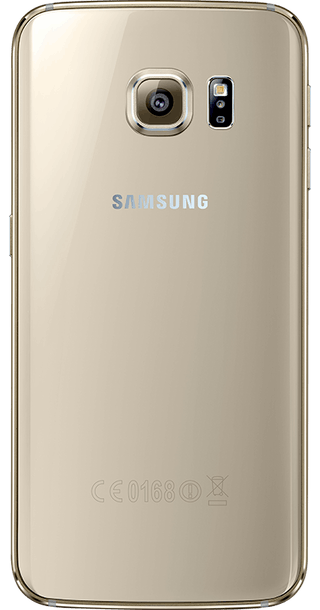 Samsung Galaxy S6 Edge 128GB Gold Platinum back