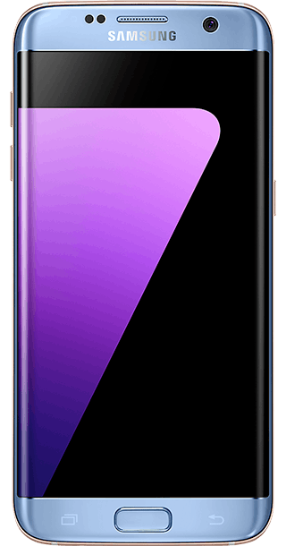 Samsung Galaxy S7 Edge 32GB Blue front