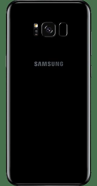 Samsung Galaxy S8 Plus 64GB Midnight Black back