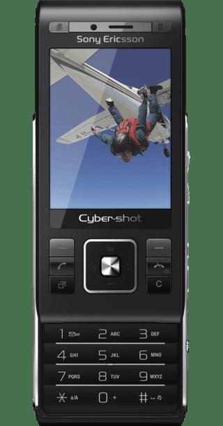 Sony Ericsson C905 Black side