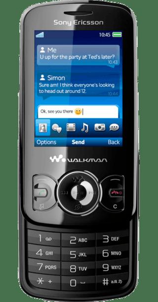 Sony Ericsson Spiro back