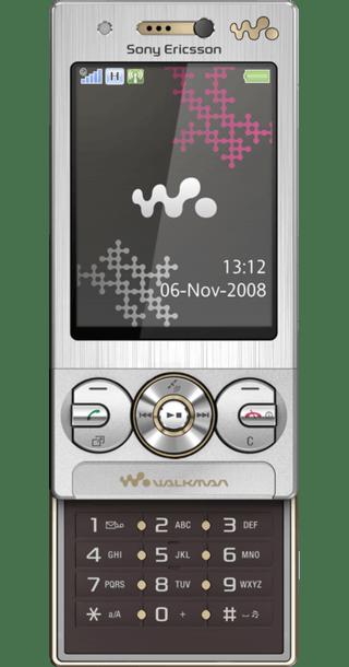 Sony Ericsson W715 Silver back