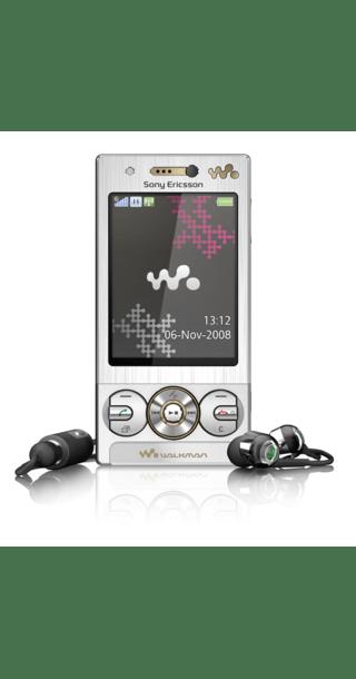 Sony Ericsson W715 Silver side