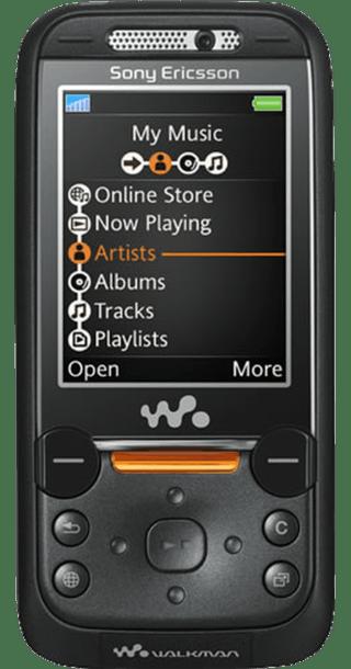 Sony Ericsson W850i Grey front