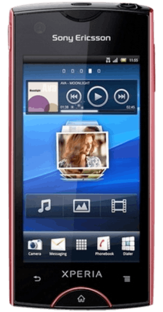 Sony Ericsson Xperia Ray front