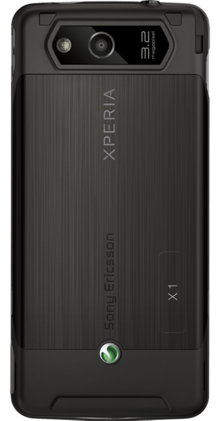 Sony Ericsson Xperia X1 Black back