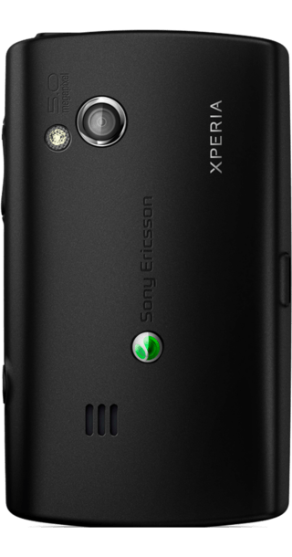 Sony Ericsson Xperia X10 Mini Pro back