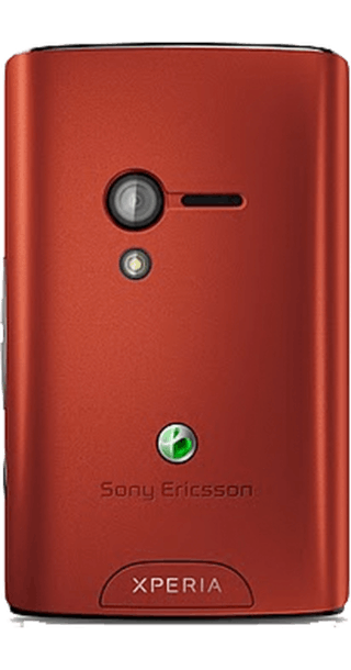 Sony Ericsson Xperia X10 Mini Red side