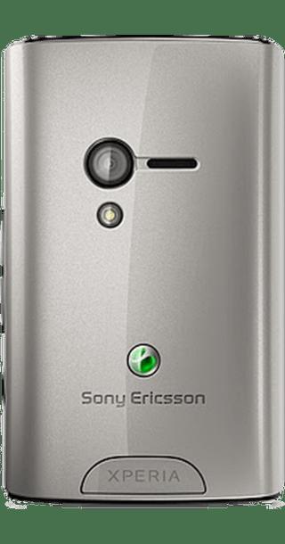 Sony Ericsson Xperia X10 Mini Silver side