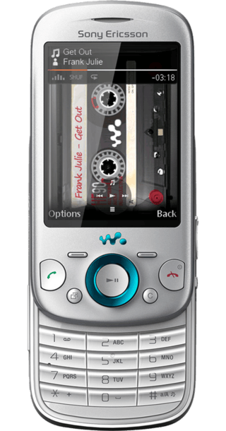 Sony Ericsson Zylo Silver back