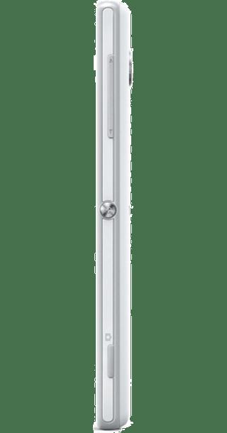 Sony Xperia Z White back