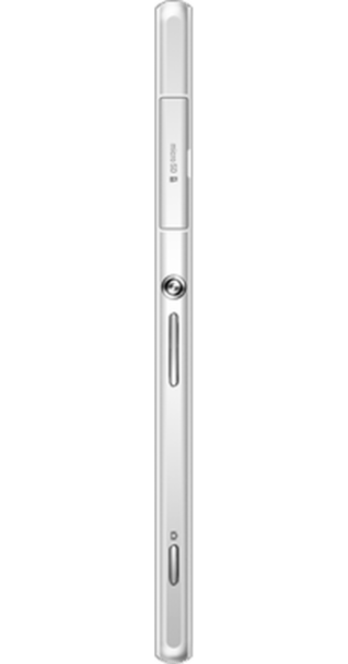 Sony Xperia Z2 White side