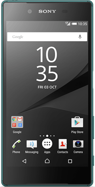 Sony Xperia Z5 Green front
